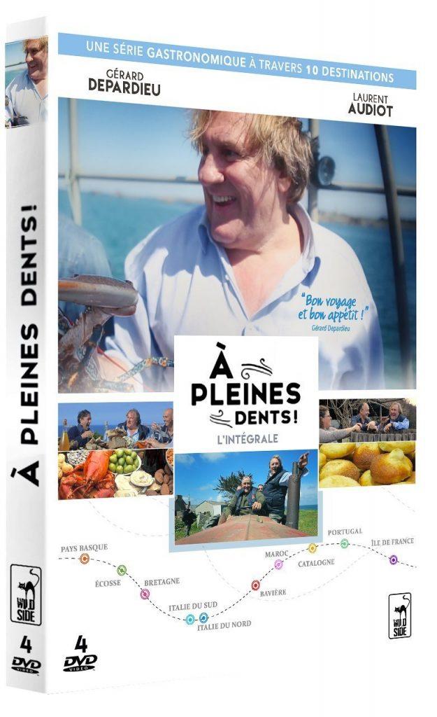 Test dvd a pleines dents l int grale de la s rie for Documentaire cuisine gastronomique
