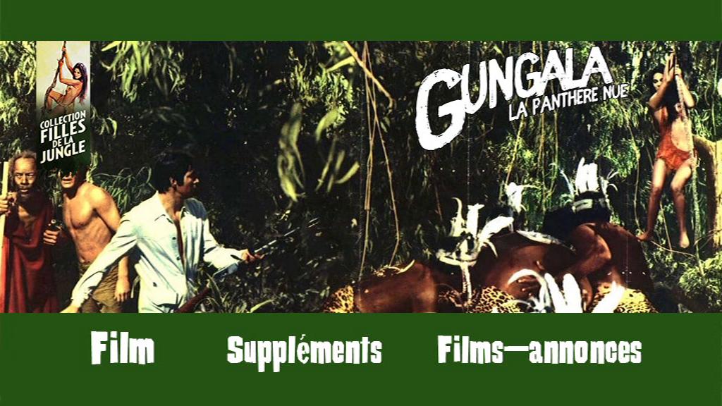 639f0f89c4b682 Contrairement à Gungala, la vierge de la jungle, il n y a pas de version  française pour Gungala, la panthère nue. Rien à redire sur le mixage  italien aux ...